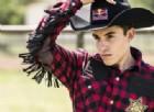 Moto contro cavallo: il rodeo di Marc Marquez