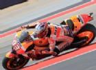 Marquez non si fa frenare dalla pioggia e si avvicina a Iannone