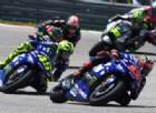 Vinales torna a podio, Valentino Rossi lo sfiora: «Yamaha in crescita»