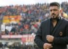 Milan: il 4-4-2 di Gattuso per ora va in soffitta