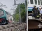 Treno deraglia sulla linea Torino-Savona: le immagini dei passeggeri sotto choc