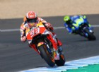 Marquez cade pure a Jerez, ma in testa c'è comunque la Honda
