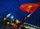 La Red Bull fa le prove generali di un Gran Premio in Vietnam