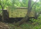 Discarica abusiva in mezzo al bosco! I Carabinieri stanno indagando!