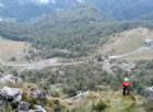 Una vista della montagne di Locana