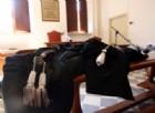 La riempie di botte davanti alla figlia, condannato a due anni e mezzo