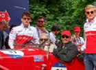 Leclerc ed Ericsson sulle Alfa Romeo storiche alla Mille Miglia