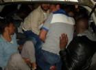 """Mercato """"Neri"""", auto fermata dalla Polizia: trasportava 11 stranieri"""