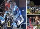 Treno deraglia sulla Torino-Ivrea, due morti: le terribili immagini dell'incidente