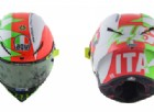 Per la festa della Repubblica Valentino Rossi sfoggia un casco tricolore
