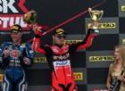 Davies, un podio che salva un weekend: la Ducati recupera punti
