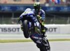 Valentino Rossi subito veloce, ma con il dubbio delle gomme