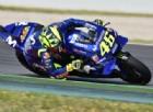 Valentino Rossi pasticcia il giro di qualifica, ma se la prende con le gomme