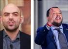 «Salvini buffone, ministro della malavita»: Saviano violentissimo contro il leader della Lega
