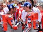 Ducati a due velocità: Lorenzo «non si ferma», Dovizioso «riparte»