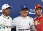 Hamilton recrimina: «Pole persa per un mio errore». E Bottas ringrazia