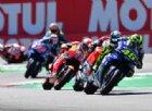 Valentino Rossi contro Dovizioso: il podio sfuma in una staccata