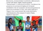 La foto dell'oro della staffetta donne 4×400 diventa virale. E' subito scontro Saviano-Salvini
