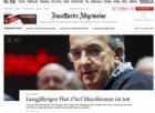 La morte di Marchionne, il manager «mago», nei giornali di tutto il mondo