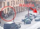La lite e l'intervento della polizia