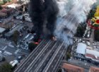 Bologna, incidente ed esplosioni in tangenziale