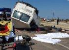 Foggia, incidente tra tir e furgone: morti altri 12 braccianti extracomunitari