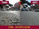 Le buche nelle strade di Roma? Le riparano i carcerati