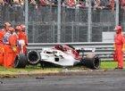Formula 1, il video di Ericsson che si schianta a 300km/h