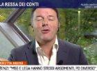 """Renzi ad Agorà: """"Governo di ladri e bugiardi. Se oggi abbiamo flessibilità è merito mio"""""""