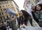 Scuola, a Montecitorio la prima manifestazione contro il governo Lega - M5s