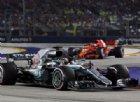 Hamilton sulla vittoria a Singapore: «Mi sento benedetto»