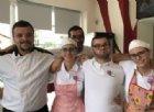 Il team del Bar Ristorante Malvarosa a Lessona