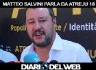 Matteo Salvini, vicepresidente del Consiglio, ad Atreju 18