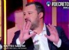 Salvini da Porro spiega tutte le novità del decreto sicurezza e immigrazione