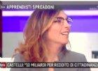 """Castelli spiega il reddito di cittadinanza: """"Se con quei soldi vai a Unieuro..."""""""