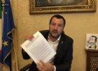 «Speravate che Mattarella non firmasse il mio decreto?»: la 'dedica' di Salvini