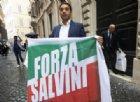 Pietro Spizzirri, vicecoordinatore dei club azzurri durante la presentazione di Forza Salvini, corrente di Forza Italia