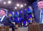 """Renzi show da Floris: """"Di Maio da ricoverare col 118"""". Poi lo scontro con il giornalista"""
