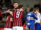 A segno il trio delle meraviglie: il Milan risorge contro la Samp