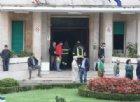 Roma, incendio in ospedale: pazienti evacuati