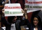 Forza Italia protesta in Senato contro il decreto sicurezza
