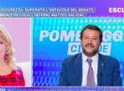 Salvini dalla D'Urso spiega il dl: «Non regaleremo più finti permessi di soggiorno a chi spaccia e stupra»