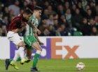 Milan: punto prezioso in casa del Betis, ci pensa Suso