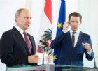 Il presunto scandalo della spia austriaca interrompe il «valzer viennese» di Putin
