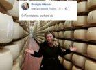 """""""O parmigiano, portami via"""": antifascisti insorgono contro Giorgia Meloni"""