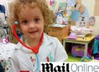 Contrae la varicella a 4 anni e le viene un ictus. Ora deve imparare tutto daccapo