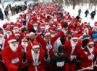 San Pietroburgo: alla corsa di Babbo Natale vincono tutti