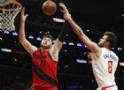 Clippers vincono in rimonta con 13 punti di Gallinari