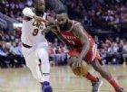 Harden show, 43 punti e Cleveland affondata