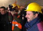 Tav, Matteo Salvini a Chiomonte: «La linea va completata»